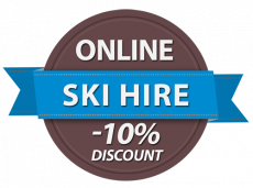Rent cross-country skis in the Kitzbühel Alps